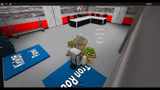 wwe seth rollins theme and triple h theme in roblox wrestlemania 33