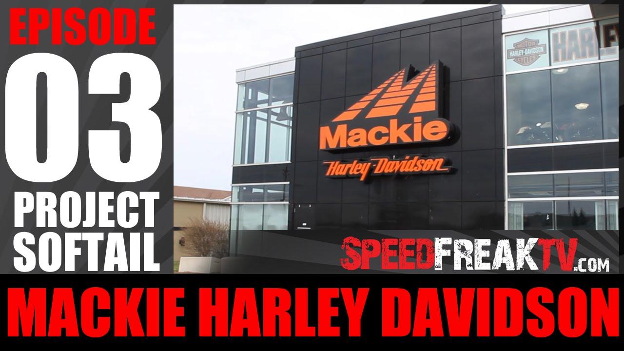 PROJECT SOFTAIL EP3: MACKIE HARLEY DAVIDSON | SDFREAKTV - YouTube