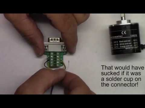 Omron Differential Encoder Overview & Wiring to Adafruit Connector