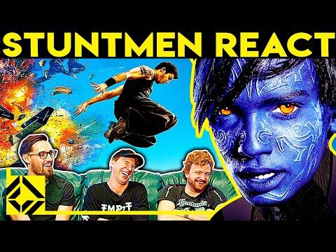 Stuntmen React To Bad & Great Hollywood Stunts 12