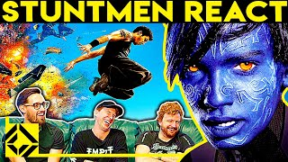 Stuntmen React To Bad & Great Hollywood Stunts 14
