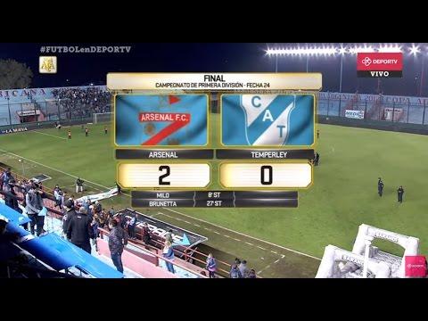 #FUTBOLenDEPORTV - EN VIVO - Vélez vs Tigre - Primera División 2016/2017 - Fecha 24