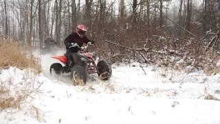 ATV Winter Fun