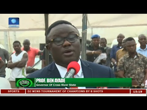 Gov Ayade Kicks Off Virgin City Ground Breaking Ceremony
