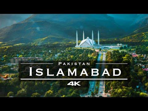 Islamabad, Pakistan 🇵🇰 - by drone [4K]
