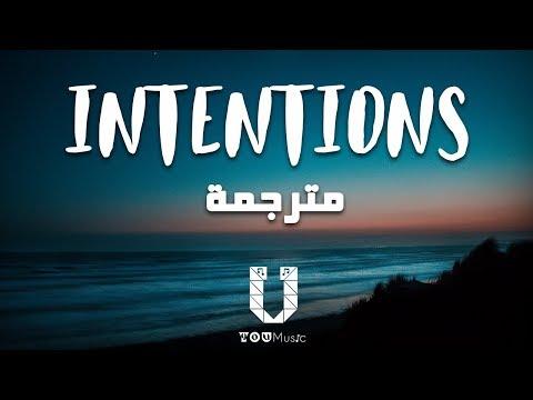 Justin Bieber - Intentions (مترجمة) ft. Quavo