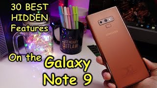 Galaxy Note 9 - 30 BEST HIDDEN and less known features you must know
