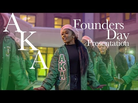 Founders Day Presentation 2019 - Alpha Kappa Alpha, Sorority Inc. | Beta Psi Chapter