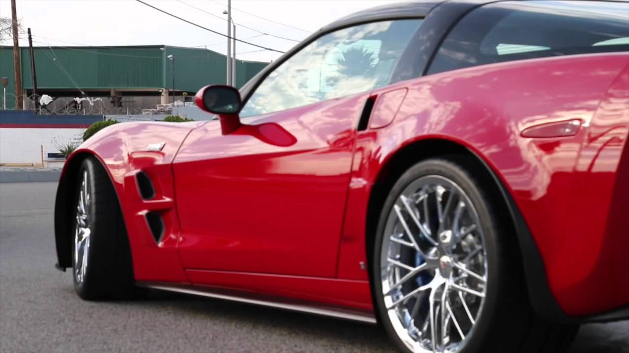 2009 Chevrolet Corvette ZR1 Victory Red! - YouTube