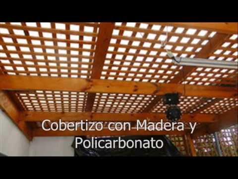 Construcciones construmass8 youtube for Cobertizos de madera
