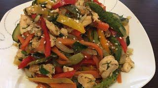 Китайский салат с курицей 😋😋