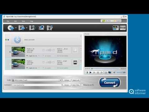 Tipard Blu-ray Converter video tutorial