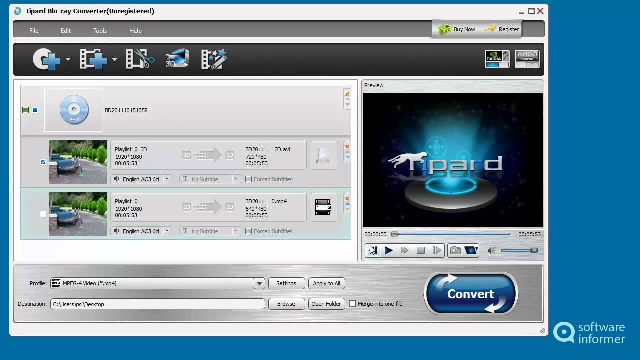Tipard Blu-ray Converter video tutorial - YouTube