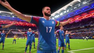 Iceland Viking Celebration | FIFA 18 | World Cup Russia 2018