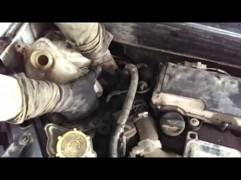 DIY:FORD FUSION 1.4TDCI TIMING BELT REPLACEMENT