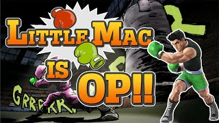 Little Mac is OP - Smash Bros. Wii U Montage