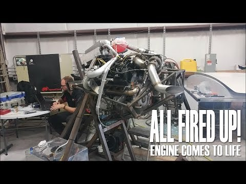 All Fired Up! - Engine comes to life
