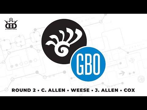 Glass Blown Open 2019 - FPO Round 2 LIVE - C Allen - Weese - J Allen - Cox