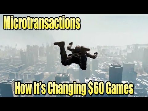 Microtransactions in $60 Games - How it's Changing Gaming