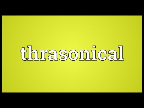 Header of thrasonical
