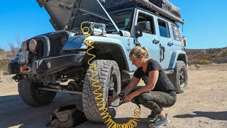 BIG BEND NP JEEP OVERLAND ADVENTURE! - Family Backcountry Camping/Off-Road Trailing /// EFRT S5•E6