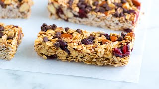 How To Make Homemade Granola Bars - Granola Bar Recipe
