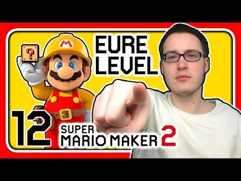 Livestream! Super Mario Maker 2 [EURE Level] (Stream 12)