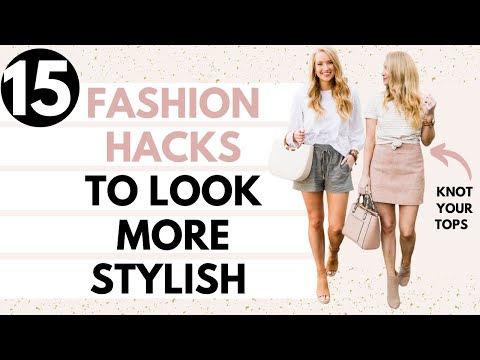 15 FASHION HACKS EVERY GIRL SHOULD KNOW | Amanda John