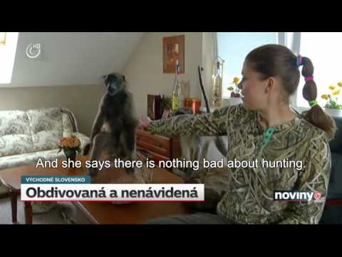 Slovakian News Piece on Female Hunters