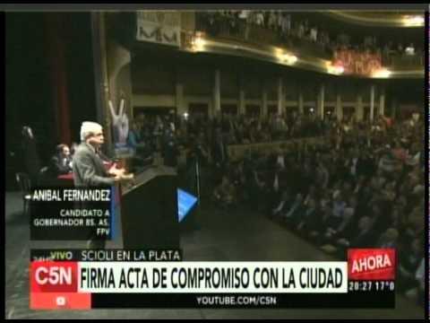 C5N  - Eleccion 2015: Conferencia de Anibal Fernandez