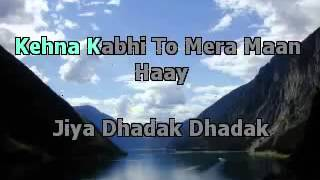 Jiya Dhadak (Kalyug) karaoke by (sameer gehani)
