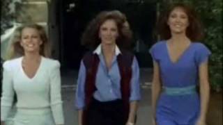 Modified cult tv classic intro with all 6 angels in stereo. created by ivan goff, & ben roberts. kate jackson, jaclyn smith, farrah fawcett, cheryl ladd...