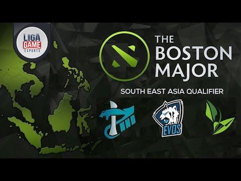 DOTA2 : Boston Major SEA Open Qualifier #2 Indonesia Coverage