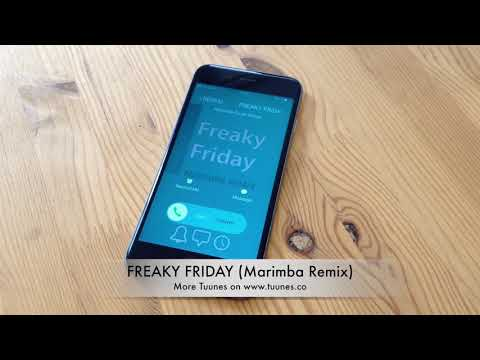 Freaky Friday Ringtone - Lil Dicky feat. Chris Brown Tribute Marimba Remix Ringtone Download