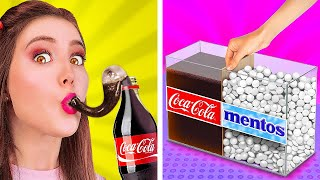 AMAZING COCA COLA HACKS! || Genius Food Pranks And Hacks by 123 Go! GOLD