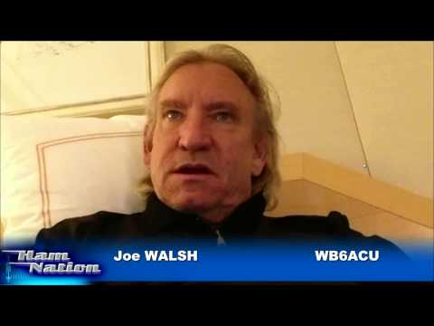 Joe Walsh's Start in Ham Radio: Ham Nation 144