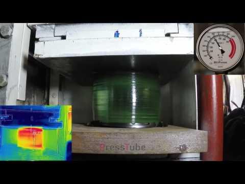 Hydraulic Press   100 CD's   Thermal   Pressure