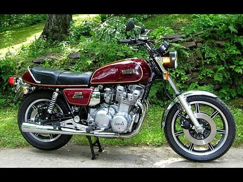 Yamaha XS11    Model History    1978-1982
