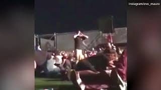 """Dramatic Moment: 'Come on you p*****s!'"""" Man stands up to gunman in Las Vegas"""