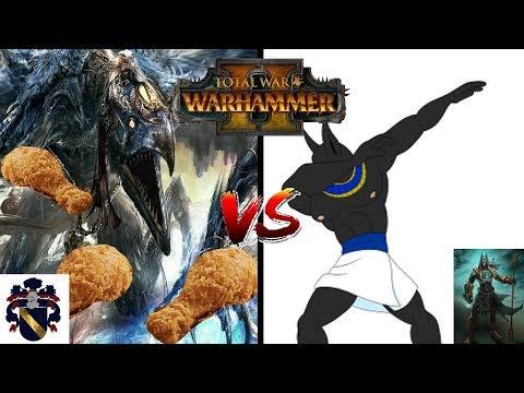PharaohOWar vs DahvPlays - BEST OF 5 Showcase   Total War: Warhammer 2