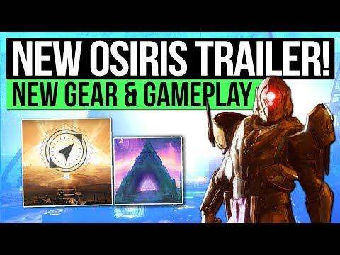 Destiny 2 News | NEW OSIRIS TRAILER! - Wilds of Mercury Patrol, New Hand Cannon, Vex Sidearm & More!
