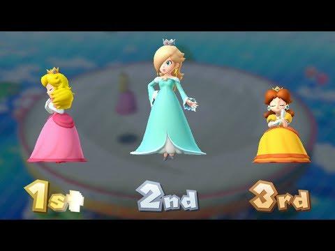 Mario Party 10 Coin Challenge - Peach Vs Rosalina Vs Daisy   GreenSpot