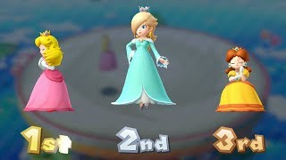 Mario Party 10 Coin Challenge - Peach vs Rosalina vs Daisy | GreenSpot