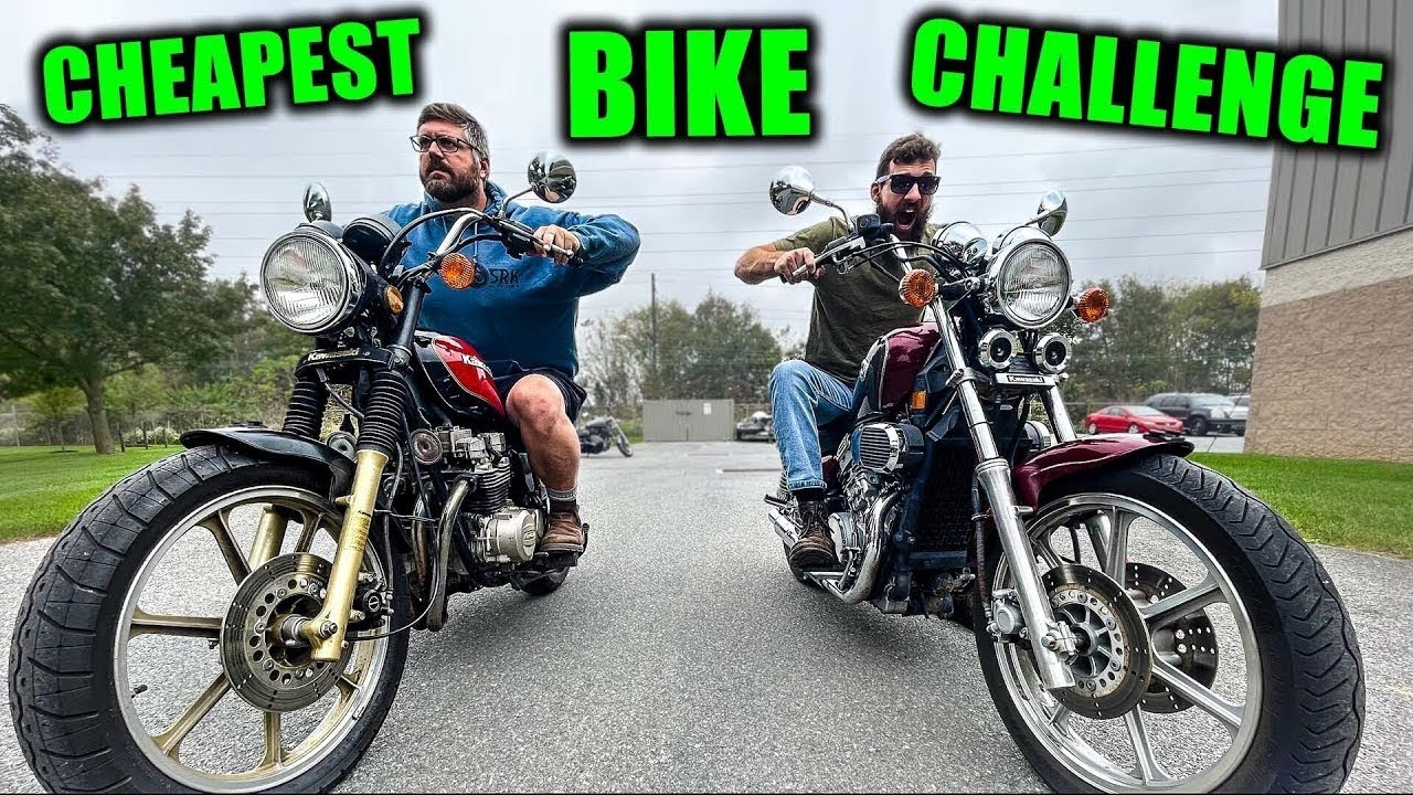 Download I Bought the cheapest under $1,000 Motorcycle: Challenge