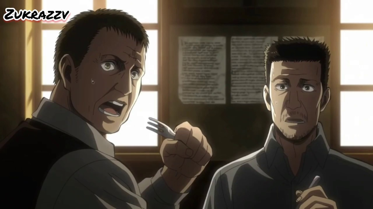Levi vs Kenny English dub - Attack on titan season 3 - YouTube
