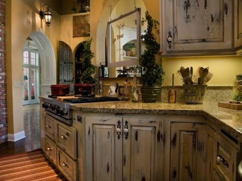 rustic kitchen cabinet moen faucet reviews how to make cabinets look youtube