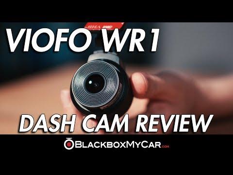 VIOFO WR1 WiFi Dash Cam Review - BlackboxMyCar