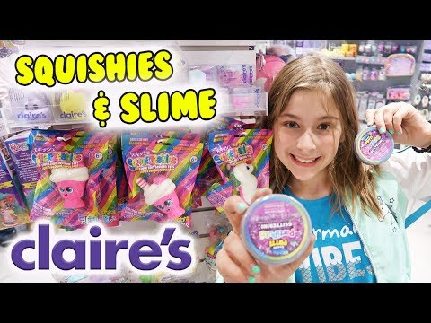 SANRIO SQUISHIES AT CLAIRE'S!! New Hello Kitty Squishy Stress Balls And MORE!