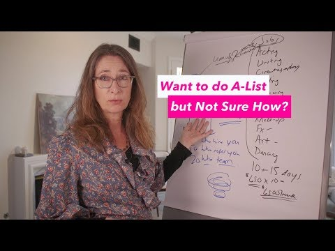 Want to do A-List but Not Sure How?