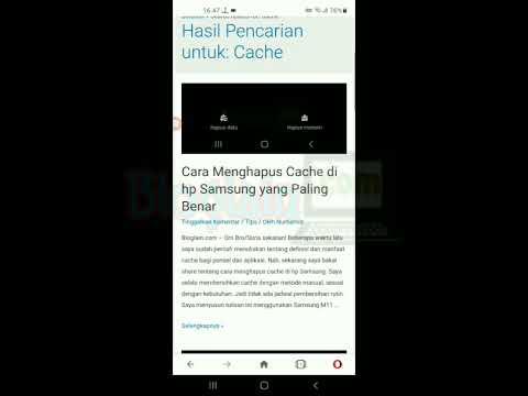 Cara Hapus Cache Samsung Android yang Benar